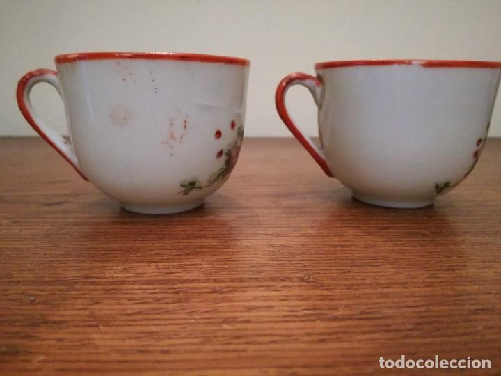 Antigüedades: Pareja de delicadas y antiguas tazas chinas. Ver descripción. - Foto 4 - 117547591