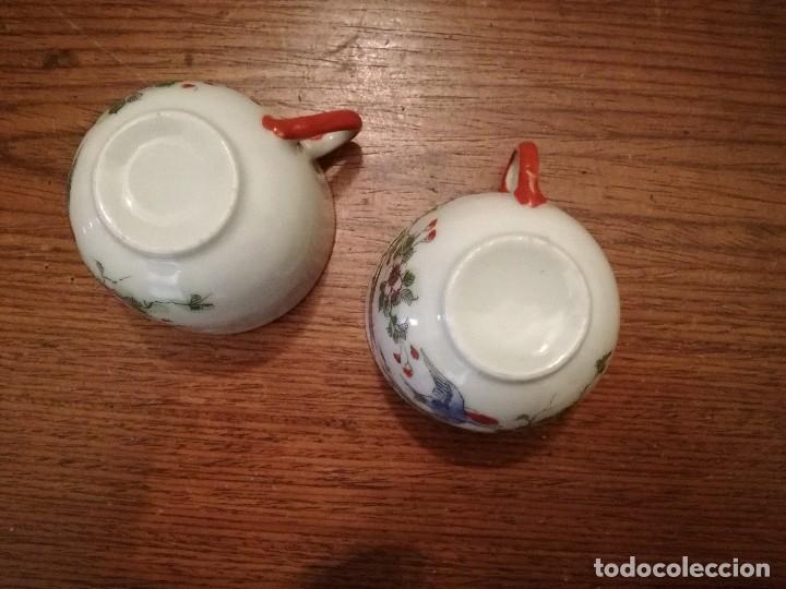 Antigüedades: Pareja de delicadas y antiguas tazas chinas. Ver descripción. - Foto 5 - 117547591
