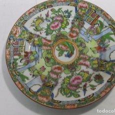 Antigüedades: PLATO DE PORCELANA CHINA - 19 CM.. Lote 117559575