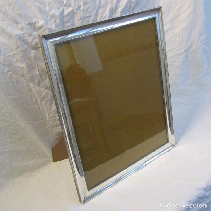 portafotos de madera con marco de plata contras - Comprar Portafotos ...