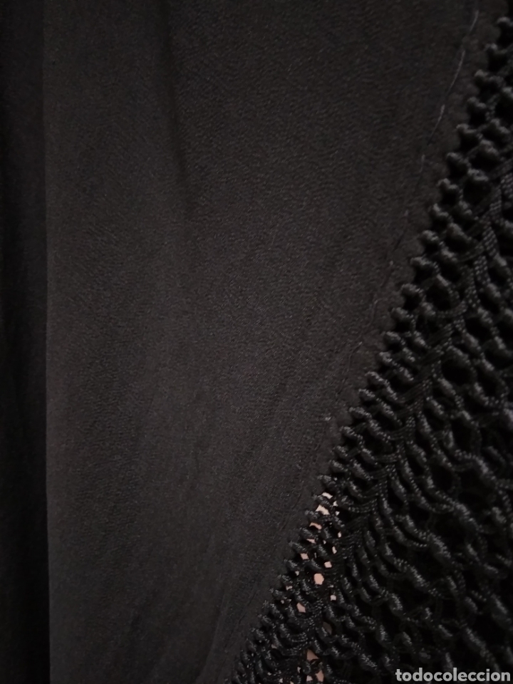 Antigüedades: Manton de manila hecho a mano siglo XX - Foto 3 - 117611855
