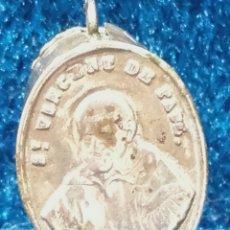 Antigüedades: RELICARIO CON RELIQUIA DE SAN VICENTE DE PAUL, MEDIDAS 2 CM.. Lote 117613971
