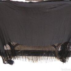 Antigüedades: MANTON DE MANILA SIGLO XIX HECHO A MANO. Lote 117617268