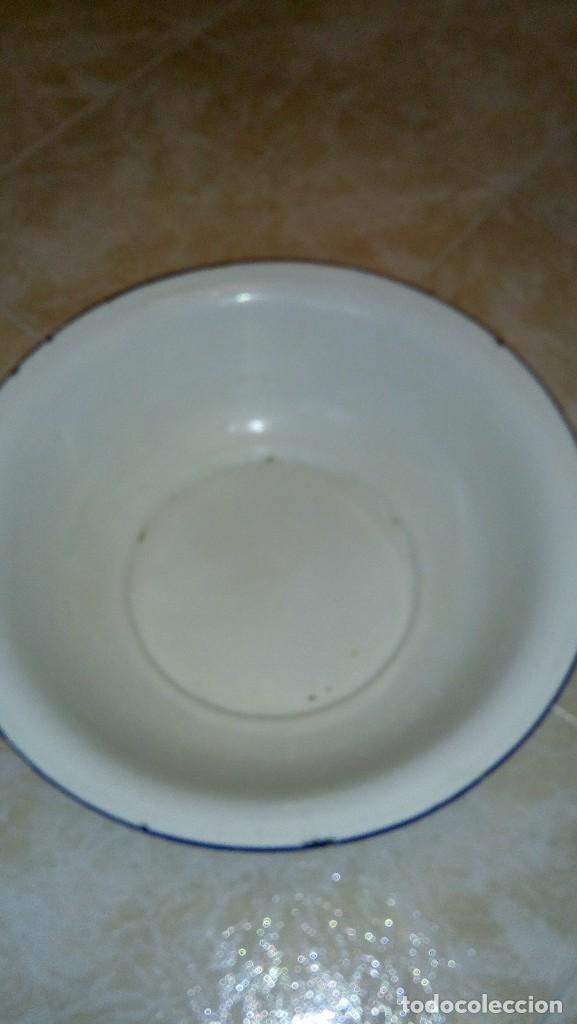 Antigüedades: Palangana porcelana 45 diámetro - Foto 2 - 117622055