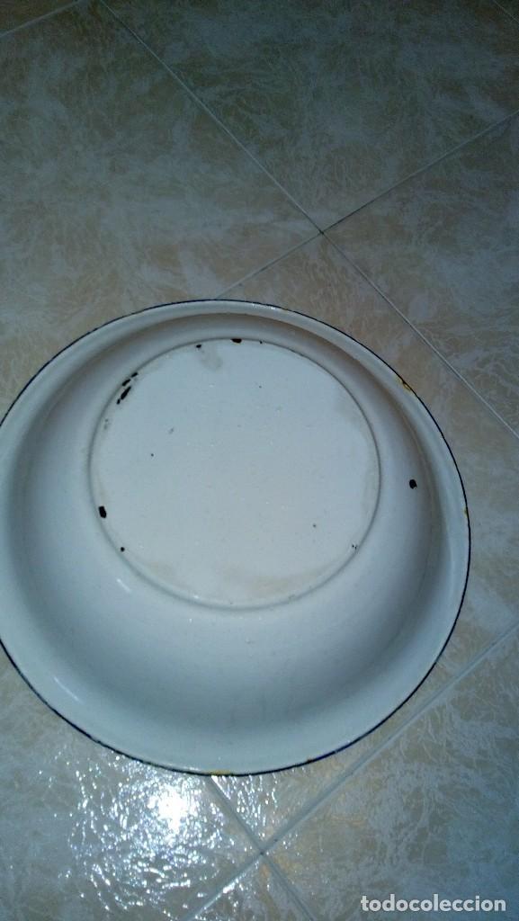 Antigüedades: Palangana porcelana 45 diámetro - Foto 4 - 117622055