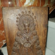 Antigüedades: ANTIGUO AZULEJO VIRGEN DEL ROCÍO. Lote 117641320