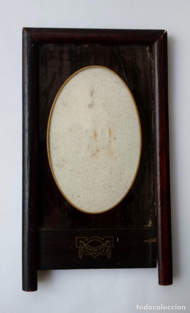antiguo. precioso marco modernista de madera pa - Comprar Marcos ...