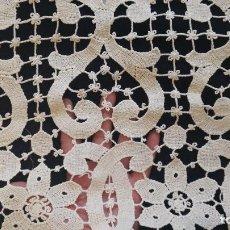 Antigüedades: ANTIGUO ENCAJE - BAJOCORTINA. Lote 117670811