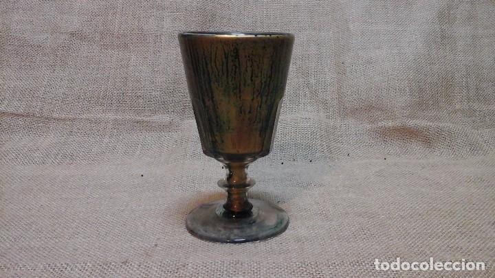COPA DE SANTA LUCÍA . PPIOS SIGLO XX (Antigüedades - Cristal y Vidrio - Santa Lucía de Cartagena)