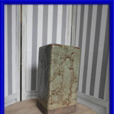 Antiquitäten - JARRON DE CERAMICA EN TORNOS VERDES Y GRISES - 117705963