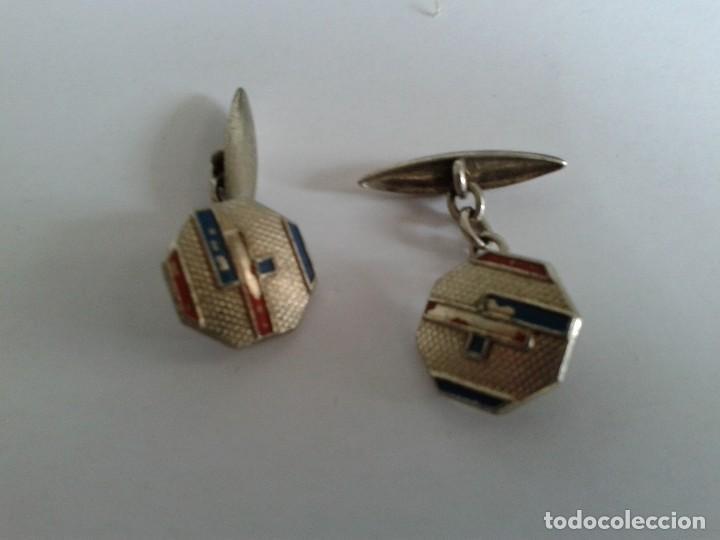 Antigüedades: 2 pares vintage gemelos - Foto 4 - 117713223