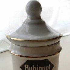 Antigüedades: ALBARELO DE PORCELANA ROCHE ROHIPNOL PONTESA. Lote 117728243