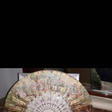 Antigüedades: ABANICO NACAR. Lote 117741527