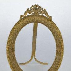 Antigüedades: MARCO EN BRONCE DORADO Y CINCELADO FINALES SIGLO XIX. Lote 117764555