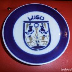 Antigüedades: PLATO CAFE O CASTRO -- SARGADELOS - - GALICIA - ESCUDO LUGO. Lote 117772395