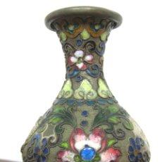 Antigüedades: ANTIGUEDAD RUSA JARRÓN ENAMEL. Lote 117775263