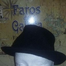 Antigüedades: SOMBRERO NEGRO. Lote 117783007