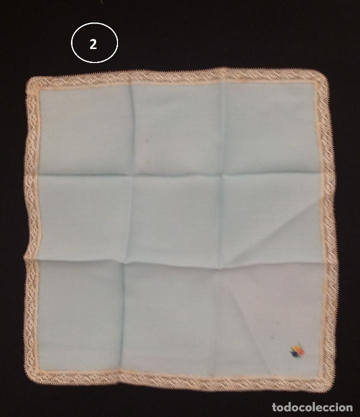 Antigüedades: Lote de 3 pañuelos - Foto 4 - 117795275