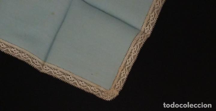 Antigüedades: Lote de 3 pañuelos - Foto 5 - 117795275
