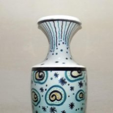 Antigüedades: ANTIGUO JARRON ART DECO, MIRAR FOTOS , ALURA 44 CM. Lote 117806511