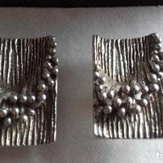 Antigüedades: GEMELOS PLATA DE DISEÑO G.JLL D. Lote 117834207