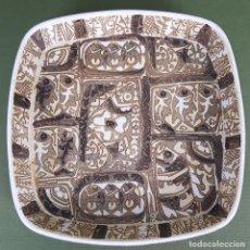 Antigüedades: BANDEJA DE CERÁMICA.. ROYAL COPENAGEN. NIL THORSEN. DECORADA A MANO. CIRCA 1970. . Lote 117892335