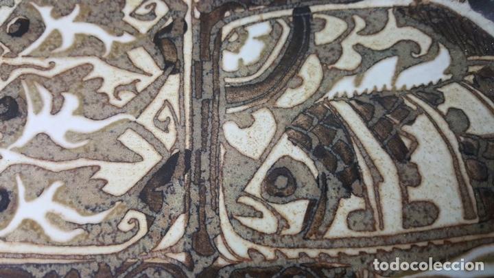 Antigüedades: BANDEJA DE CERÁMICA.. ROYAL COPENAGEN. NIL THORSEN. DECORADA A MANO. CIRCA 1970. - Foto 9 - 117892335