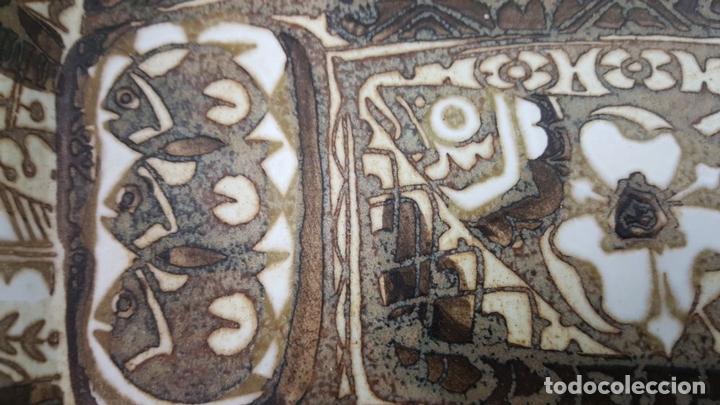 Antigüedades: BANDEJA DE CERÁMICA.. ROYAL COPENAGEN. NIL THORSEN. DECORADA A MANO. CIRCA 1970. - Foto 11 - 117892335