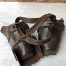 Antigüedades: PAREJA DE ESTRIBOS. Lote 117914963