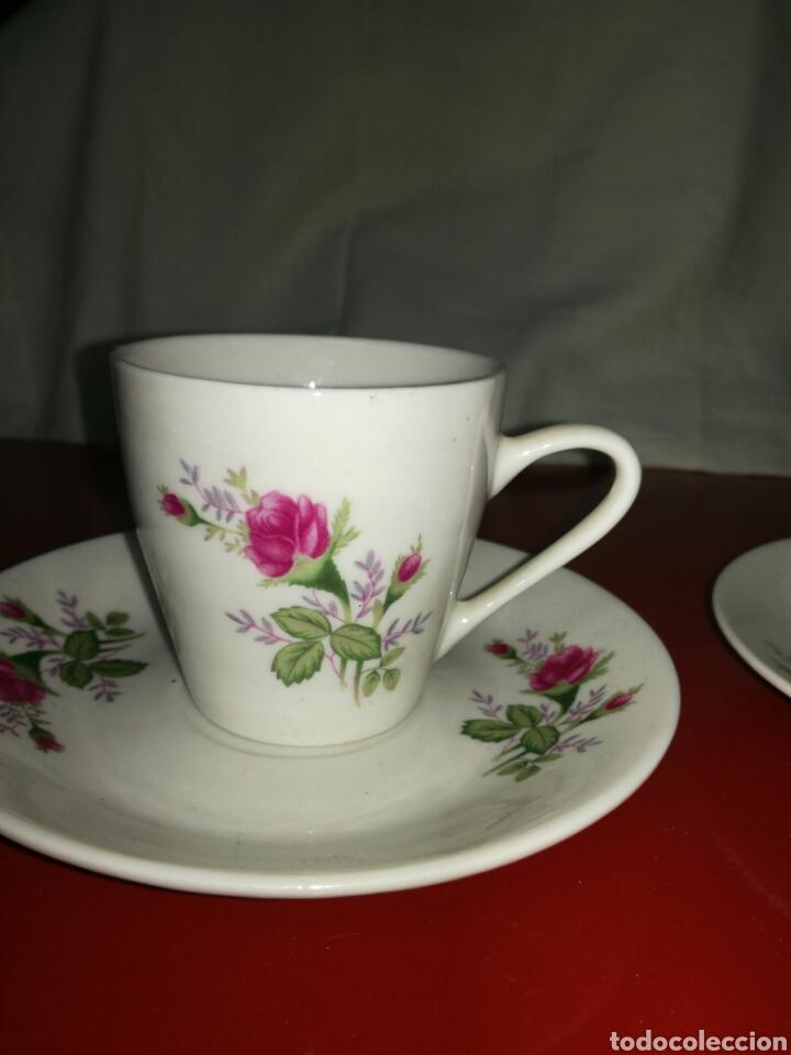 Antigüedades: Pareja de tazas de porcelana China - Foto 2 - 117923300