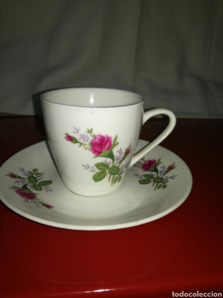 Antigüedades: Pareja de tazas de porcelana China - Foto 3 - 117923300
