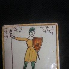 Antigüedades: AZULEJO CATALAN DE ARTES Y OFICIOS. Lote 104888062