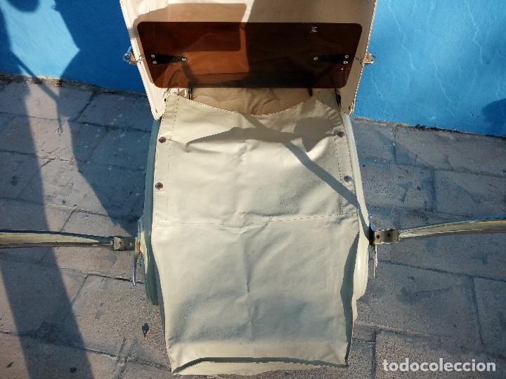 Antigüedades: Cochecito de bebe aerodinámico marca royal era. años 20/30, completo. - Foto 9 - 117953855