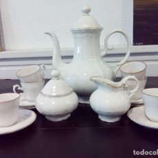 Antigüedades: JUEGO DE CAFÉ BAVARIA. Lote 117987579