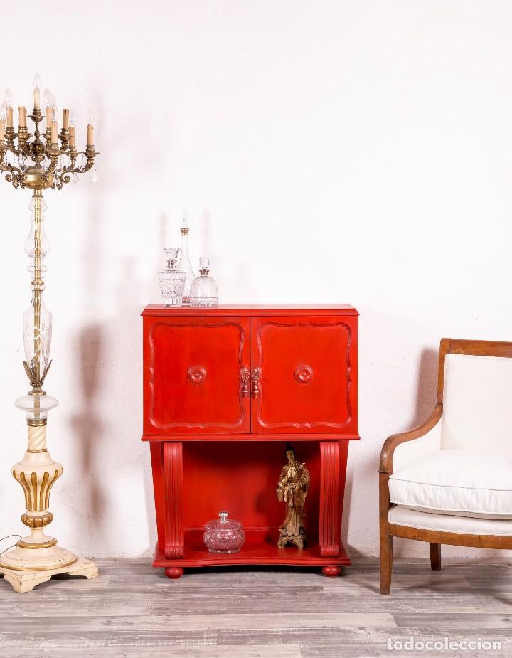 MUEBLE BAR ANTIGUO ROEL (Antigüedades - Muebles Antiguos - Auxiliares Antiguos)