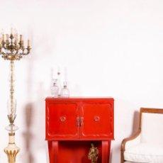 Antigüedades: MUEBLE BAR ANTIGUO ROEL. Lote 117990931