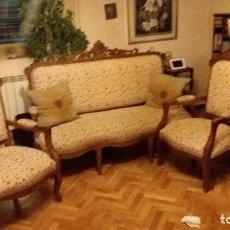 Antigüedades: TRESILLO ALFONSINO. Lote 74294235