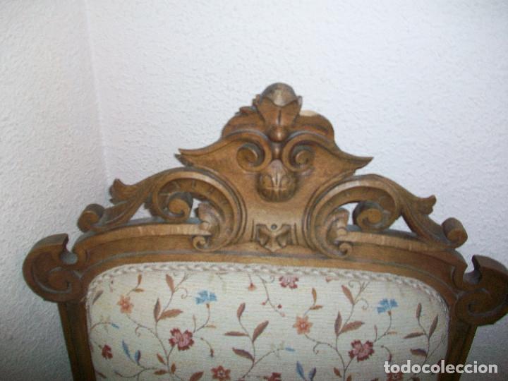 Antigüedades: Tresillo Alfonsino - Foto 5 - 74294235