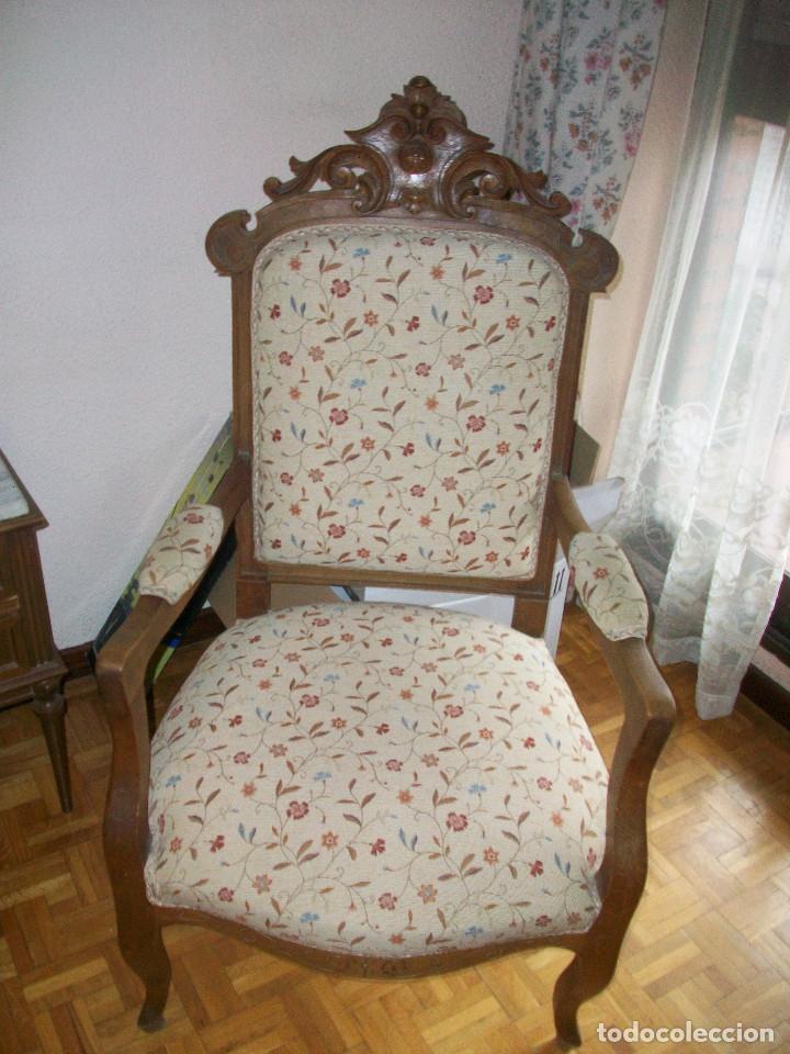 Antigüedades: Tresillo Alfonsino - Foto 6 - 74294235