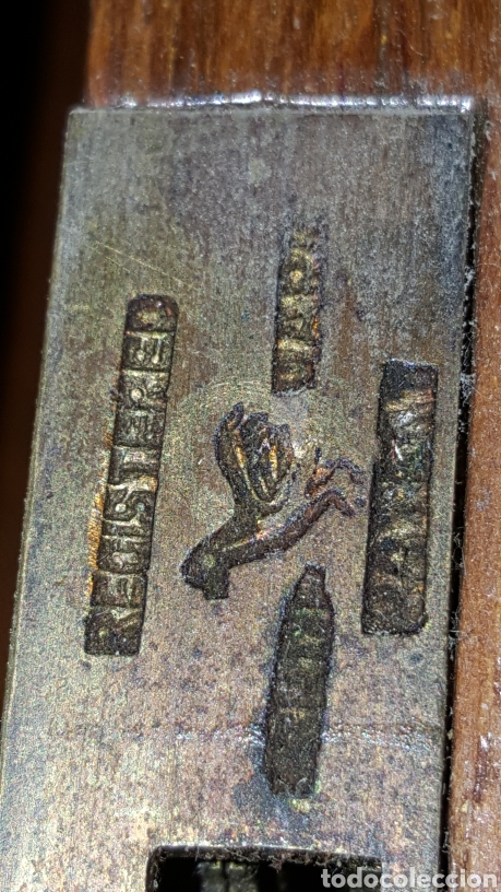 Antigüedades: GRAN CAJA-ESCRITORIO DE BARCO - Foto 13 - 118067847