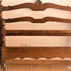 Antigüedades: ANTIGUA CAMA DE 90 DEL AÑO 1920. Lote 95953687