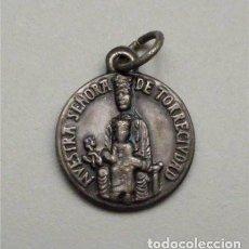 Antigüedades: MEDALLA RELIGIOSA DE NUESTRA SEÑORA DE TORRECIUDAD (HUESCA) OPUS DEI . Lote 118108943