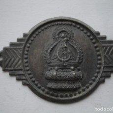Antigüedades: PLACA VIRGEN DE ¿?. Lote 118110779