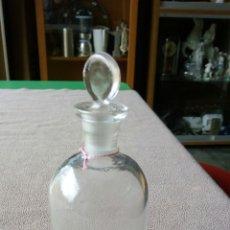 Antigüedades: BOTE DE BOTICA O FARMACIA EN VIDRIO. Lote 118136035