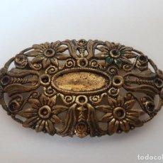 Antigüedades: ANTIGUA HEBILLA DE CINTURON ( PARA RESTAURAR ) AÑOS 20/30. Lote 118140639