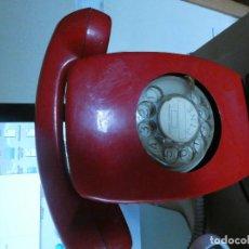 Antigüedades: RARO TELEFONO HIDALGO ROJO MURAL . Lote 118170915