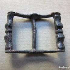 Antigüedades: HEBILLA DE BRONCE ,POSIBLE S XVI MEDIDAS APROX 3,6 X 2,6. Lote 118187671