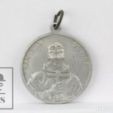 Antigüedades: ANTIGUA MEDALLA RELIGIOSA - SAN JUAN DE DIOS. IV CENTENARIO DE SU MUERTE, 1550-1950 - DIÁMETRO 35 MM. Lote 149289206
