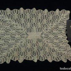 Antigüedades: 1102 TAPETE ANTIGUO DE GANCHILLO DE HILO PPS S XX. Lote 118241567