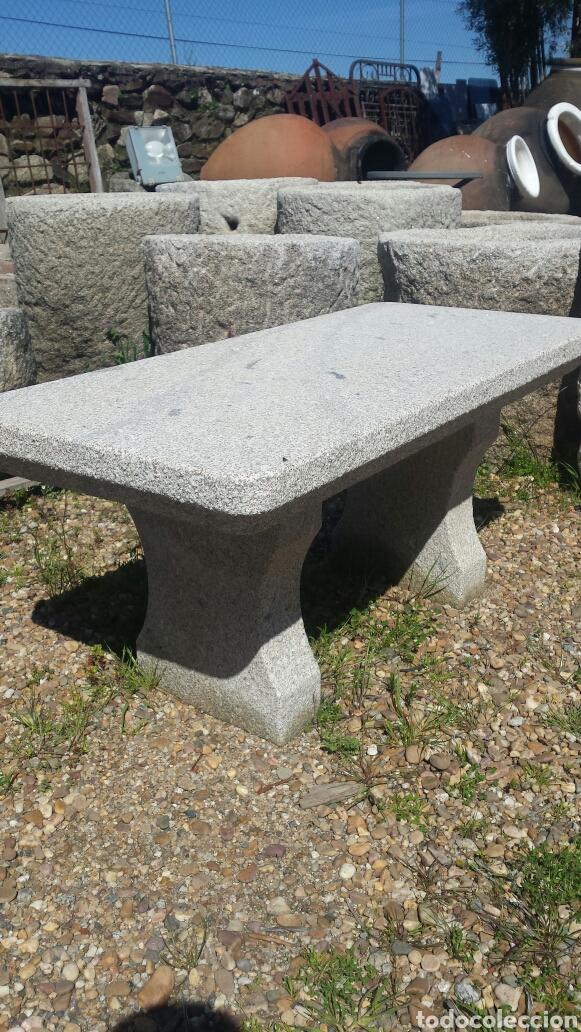 Antigüedades: banco piedra de granito pecho de paloma. varios. - Foto 2 - 118244674